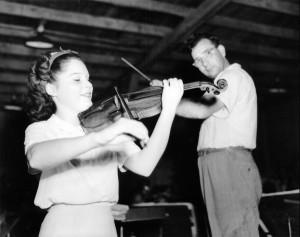 "Patricia Travers was a child prodigy violinist who disappeared from the spotlight after adolescence. Her short-lived career is an example of how children need to ""own"" their accomplishments and not be performers and producers to make their parents look good."