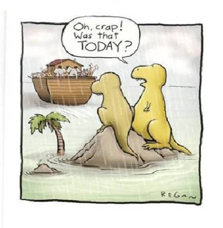 Sometimes it's just hard to manage the activities of a busy family. Even the dinosaurs couldn't get it. Raising children is one of the most challenging tasks.