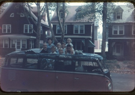 my family in 1963. we were a close happy family with lots of chores, encouragement, family meetings, mandatory family dinner, fun and closeness. My mother let natural and logical consequences happen to us all the time