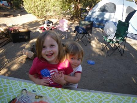 They're about as cute as they come. Children love camping together. It's a great adventure. Raising children outdoors teaches them to appreciate the planet.