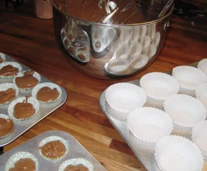 Making cupcakes can be messy. Let children get their hands in the batter, lick the pans, and experiment in the kitchen. Here's a parenting tip: cook with them.
