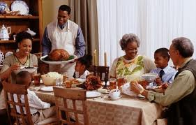 family dinner is one of the best ways to connect with each other at tHanksgiving and every other day of the year. Family dinner with toddlers, preschoolers, school age, tweens, teens, teenagers and adolescencts means less drug abuse, less alcohol and tobacco abuse. Family dinner is one of the best ways to connect with your teens and children and keep them off the street and out of trouble. Family dinner is  place to absorb manners, values and behavior.